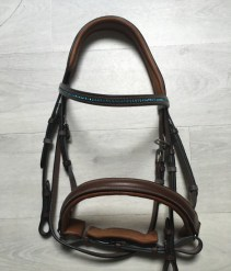 Equiswap filet cheval frontal strass