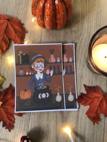 carte potion magique print