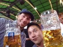 Vinh et moi au Oktoberfest