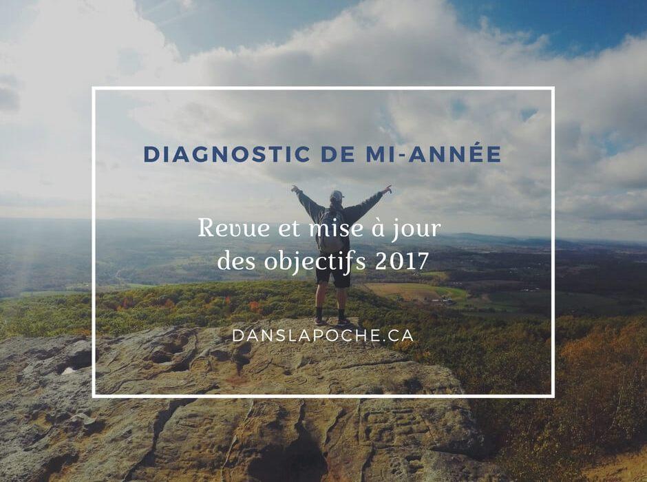 Diagnostic de mi-année – Revue et mise à jour des objectifs 2017
