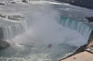 Niagara Fall vue d'en haut   danslapoche.ca