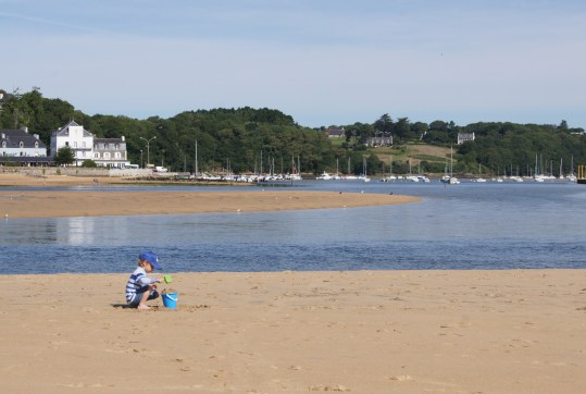 Pâté de sable en Bretagne