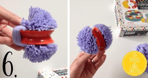 Tuto : Customiser un panier avec des pompons