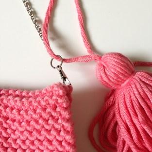 Tuto : Une pochette pour l'été au tricot
