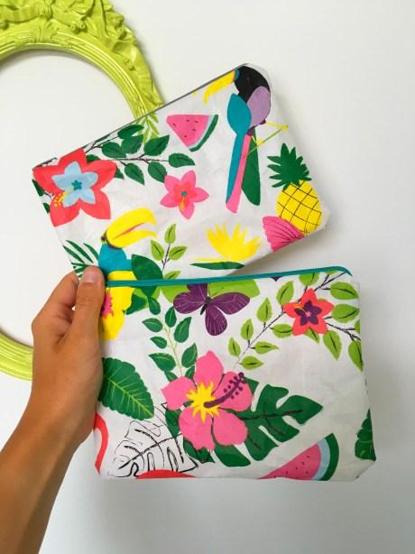 Recycler un sac cabas en pochette