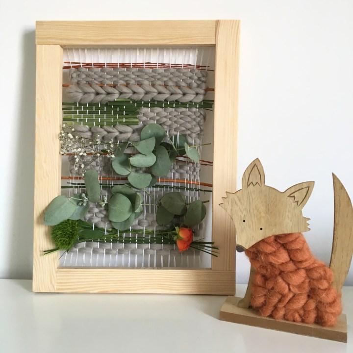 Tuto : un tissage laine et végétal en partenariat avec Peace and Wool