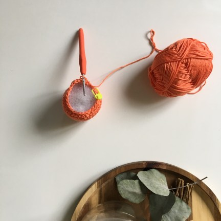 Tuto : Une citrouille au crochet pour Halloween