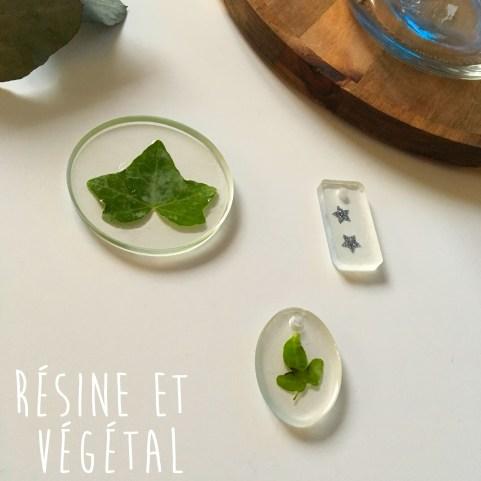 Tuto : Résine et végétal