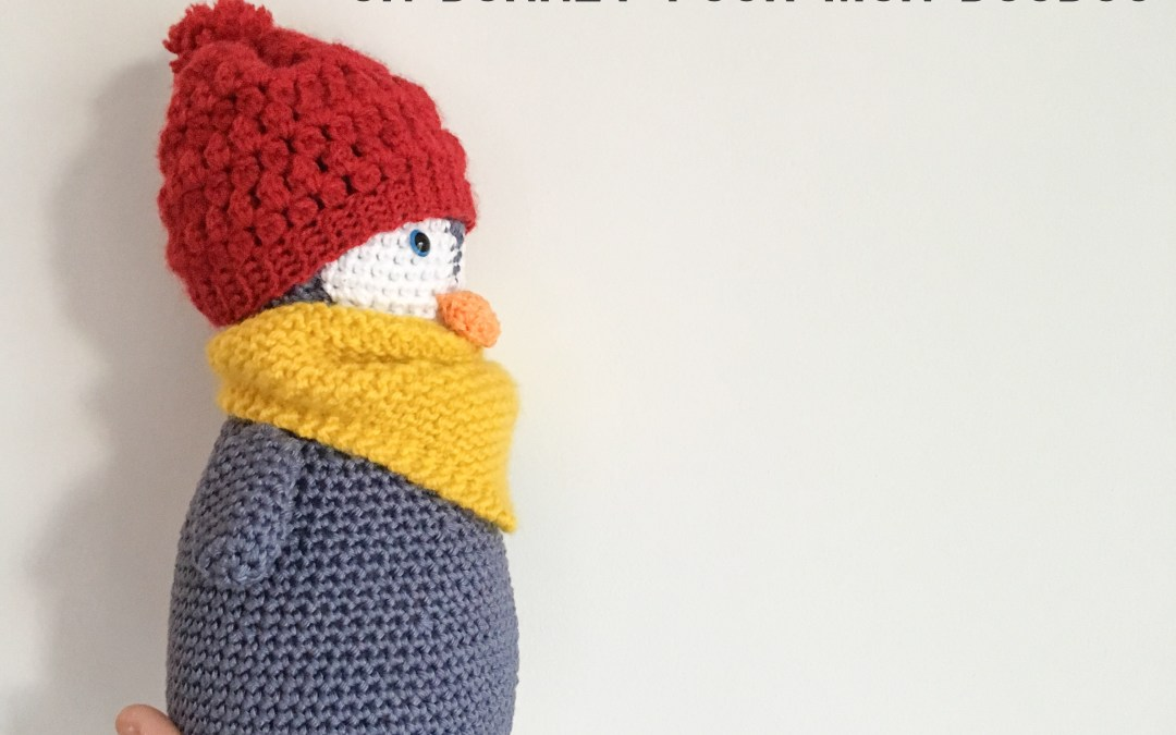 Tuto Crochet : un petit bonnet tout chaud pour mon Pingouin frileux – Amigurumi