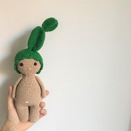 Tuto : un bonnet cactus au crochet pour mon Petit Dodu