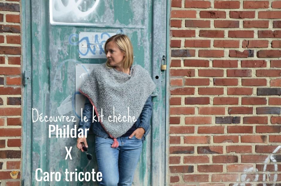 Kit chèche Phildar x Caro Tricote