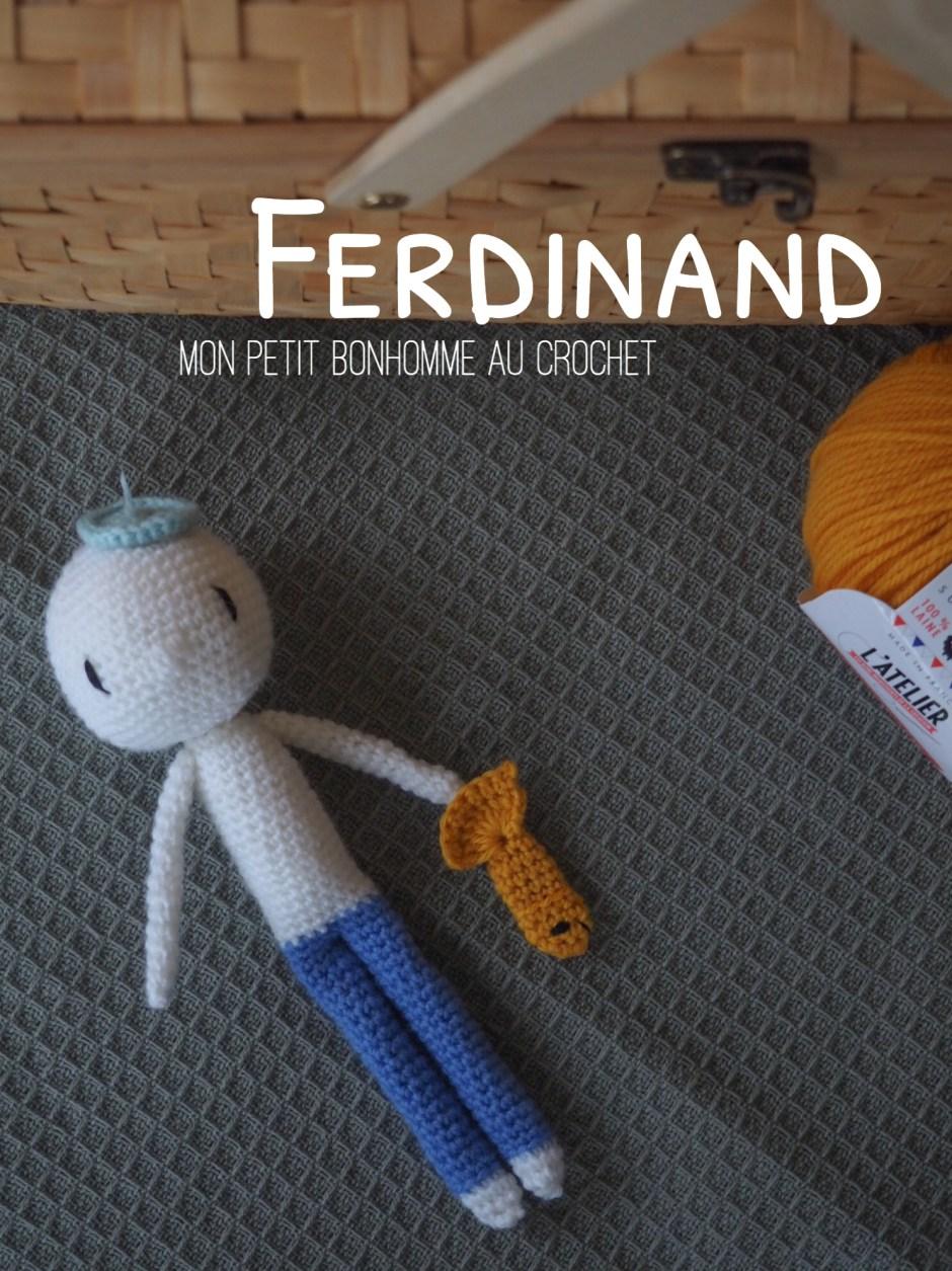 Ferdinand, mon petit bonhomme au crochet f00e61f7006