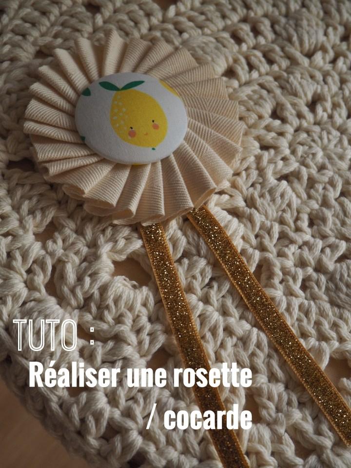 Tuto : Réaliser une rosette ou une cocarde avec Clover