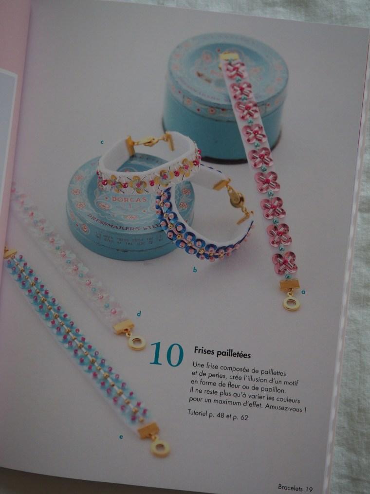 Accessoires brodés de perles et paillettes - Marie Maglaque
