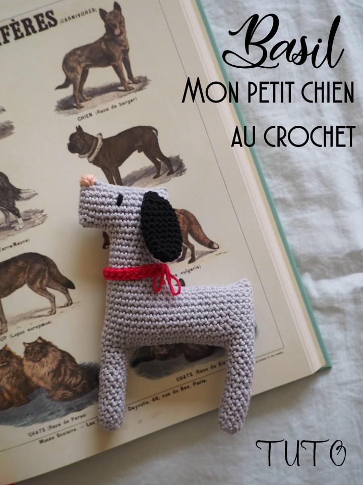 Tuto crochet – Basil, le chien – Amigurumi