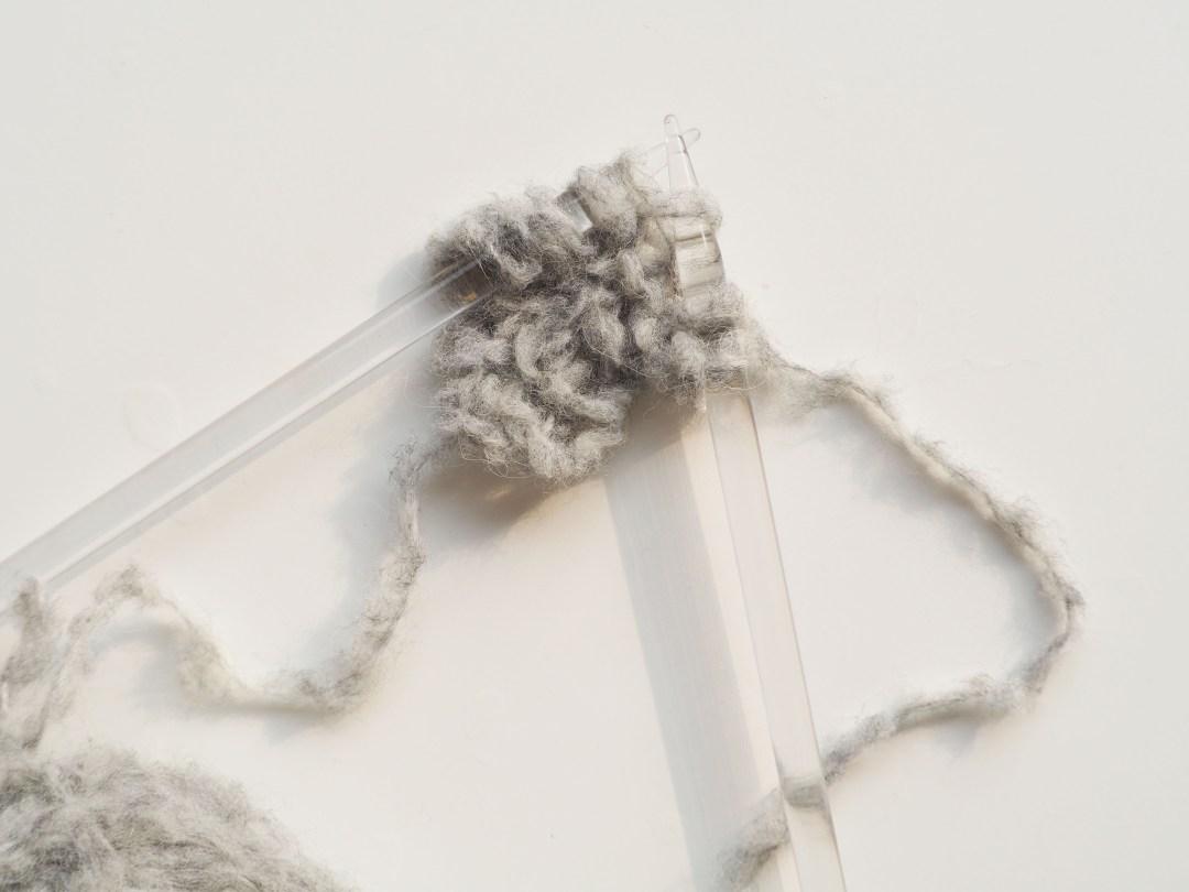 Châle tricot Phildar - L'enveloppant
