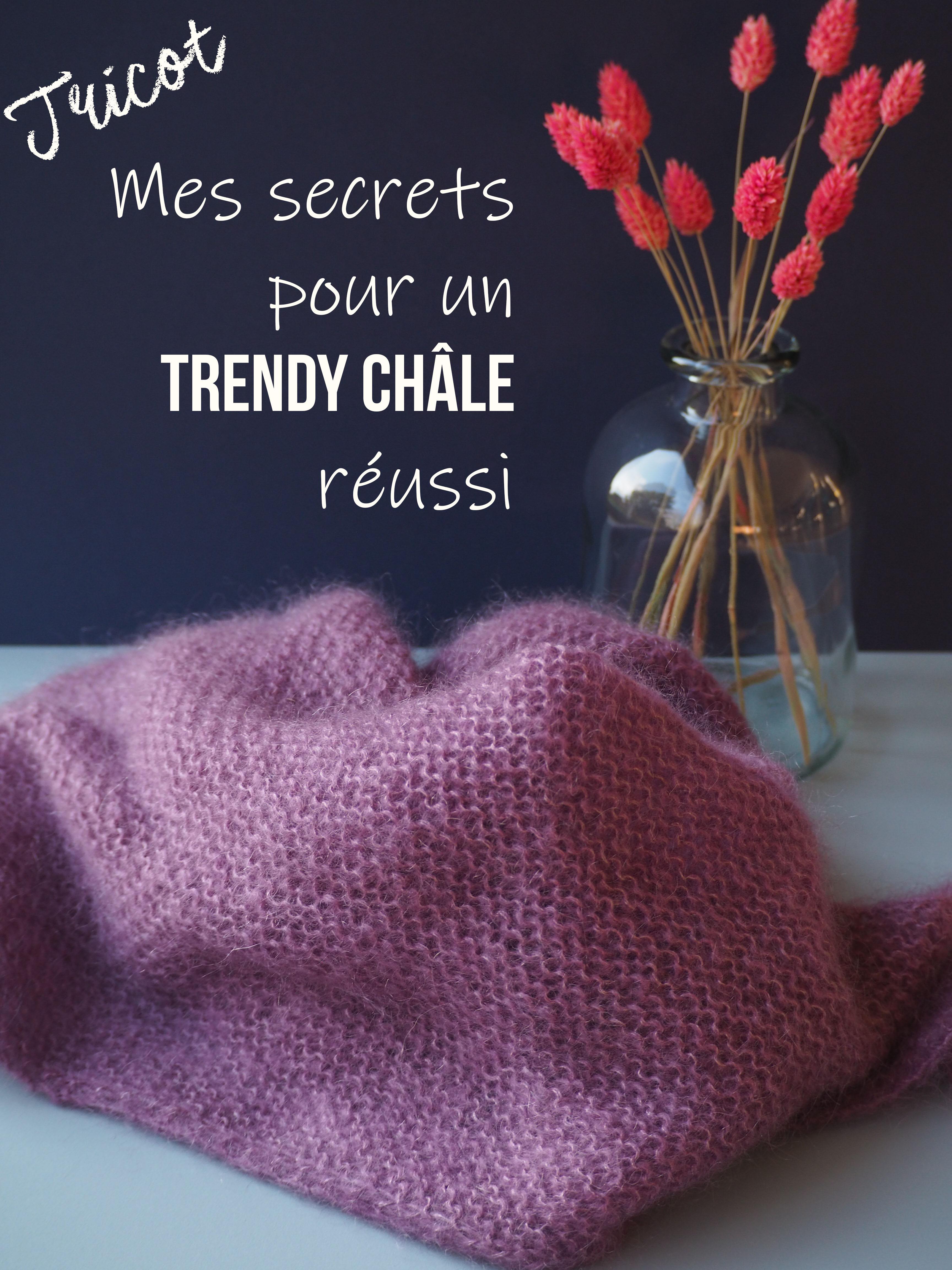 Tuto Tricot Les Secrets Pour Un Trendy Chale Reussi Caro Tricote