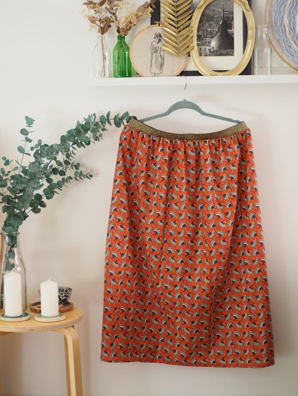 Coudre une jupe élastique - Tuto facile