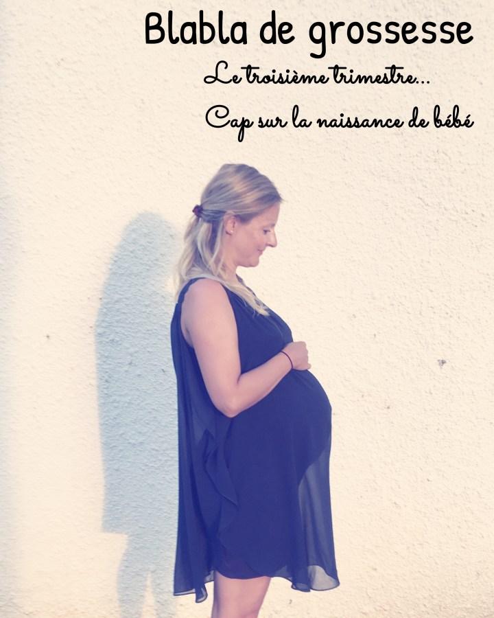 Cap sur mes dernières semaines de grossesse et l'impression que cela se termine tout doucement