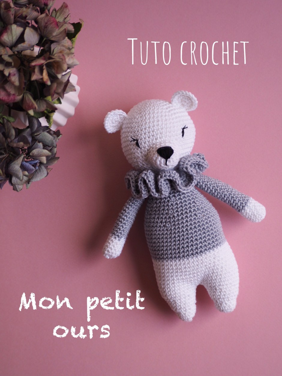 AMIGURUMI (crochet) : petit lapin blanc - YouTube | 1253x940
