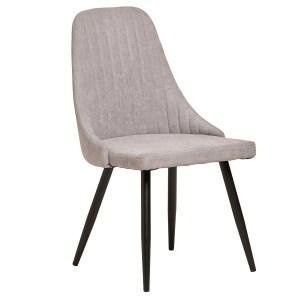 mina chaise gris clair
