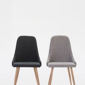 neus chaise gris foncé