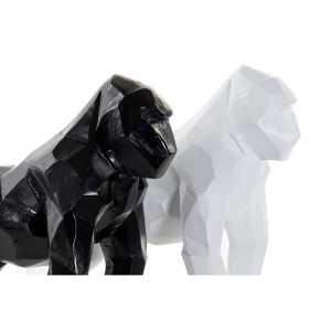 GORILLE FIGURE résine 18.5x11x20 – noir ou blanc