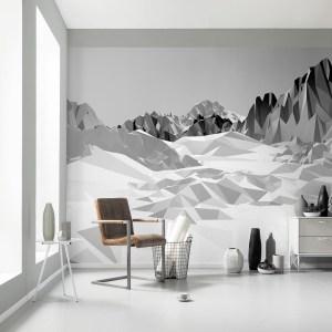 Icefields Papier peint | dansmamaison.ma -Maroc