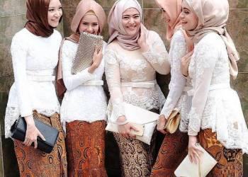 Model Kebaya Kartini Modern Hijab.