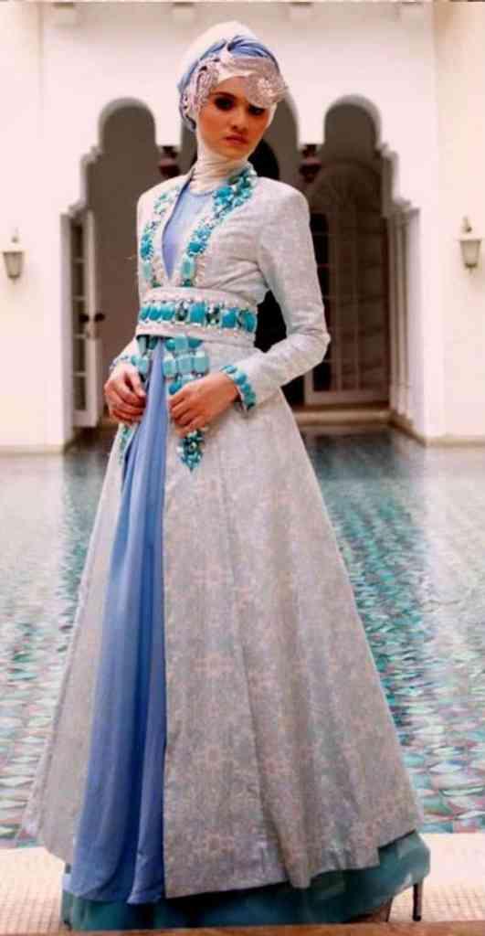 Pakaian modern untuk pesta pernikahan