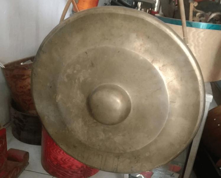 Gambar Gong Salah Satu Instrumen Gamelan
