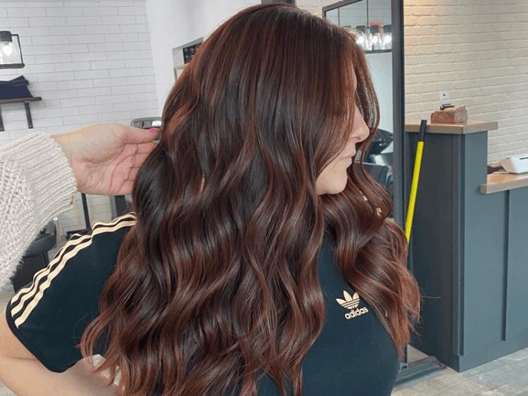 6 Mahogany Hair