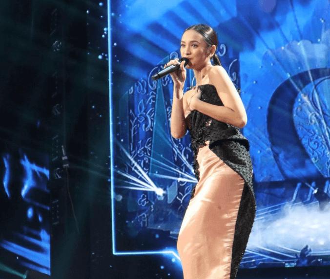 Lyodra Ginting Saat Menyanyikan Lagu Gemintang Hatiku