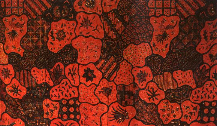 batik kartini asal jepara motif sekar jagat bumi
