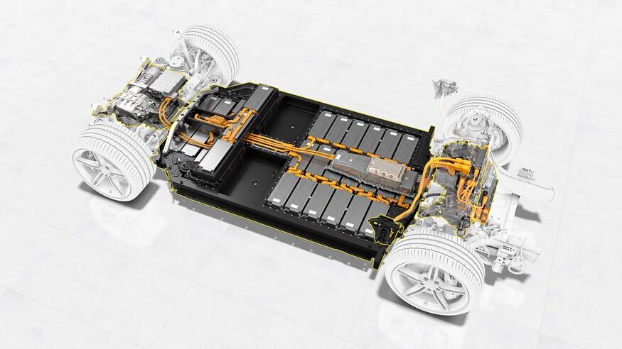 taycan batterie