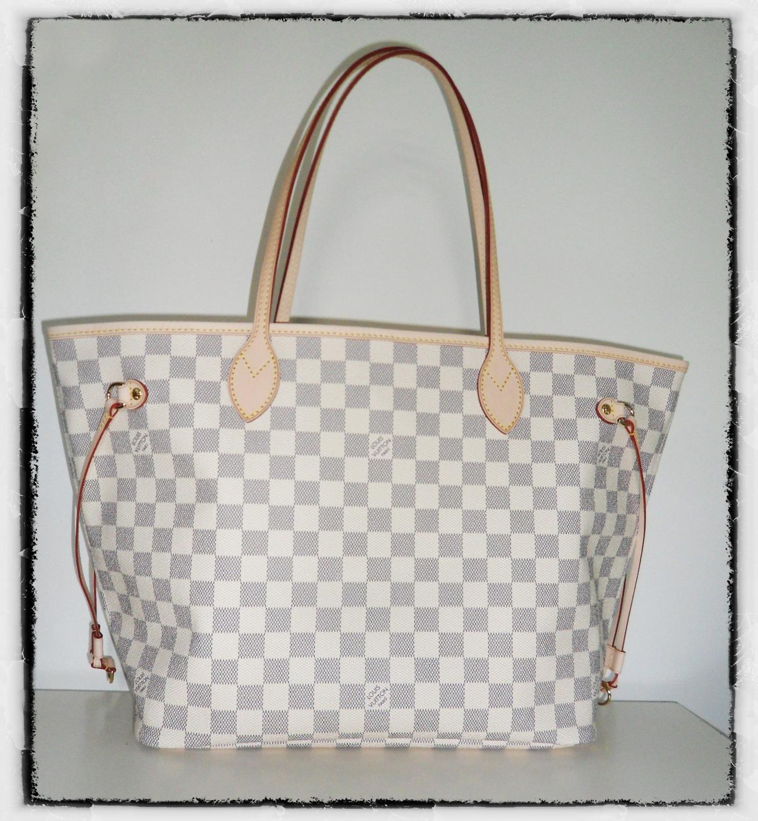 Mon nouveau copain sac   le Neverfull Damier Azur de Louis Vuitton ... 56fe6cbfb5a