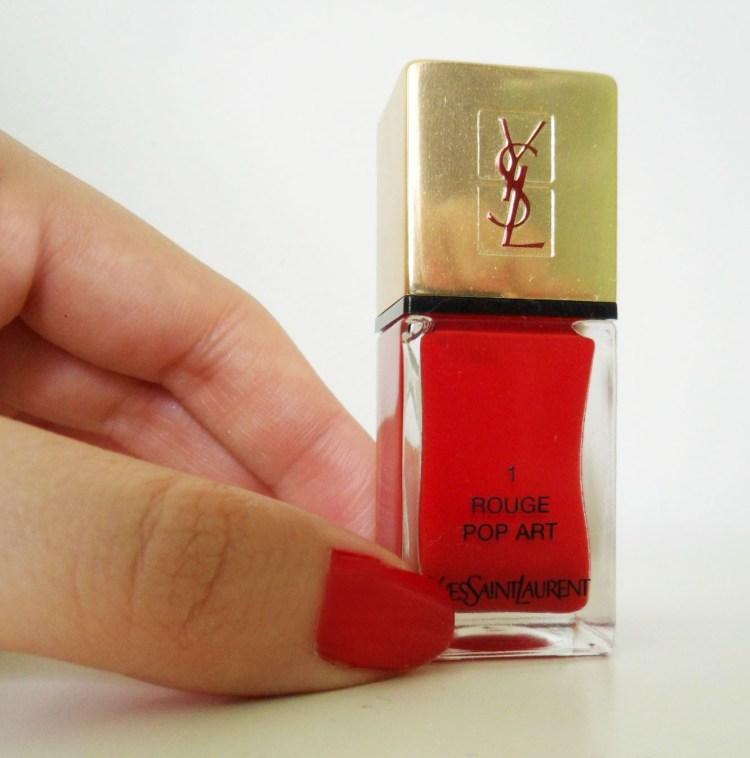 Manucure Rouge Pop Art Yves Saint Laurent