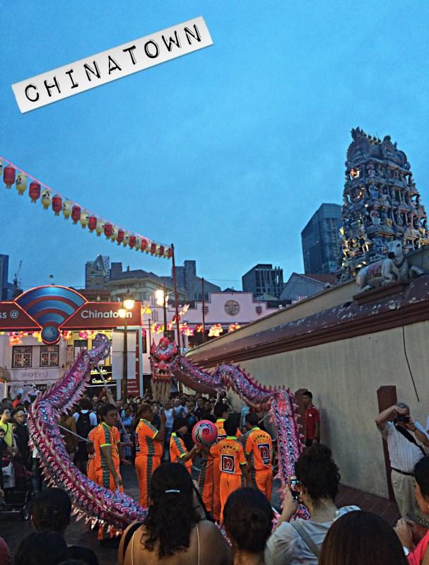 Chinatown Quartier Chinois Singapour
