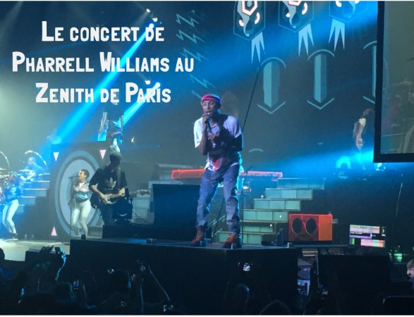 Le concert de Pharrell Williams au Zénith de Paris