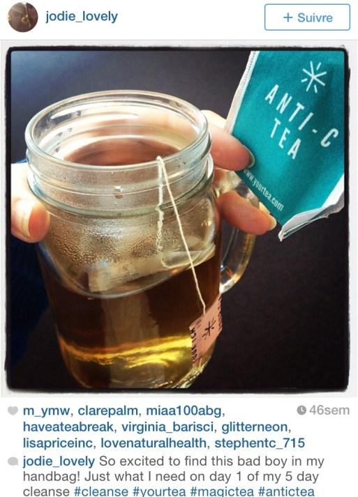 Instagram AntiC tea