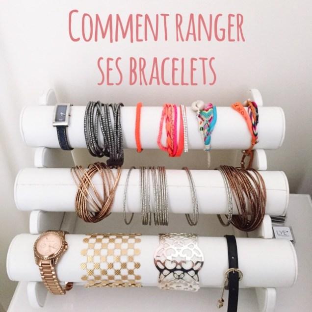 Comment ranger ses bracelets présentoir