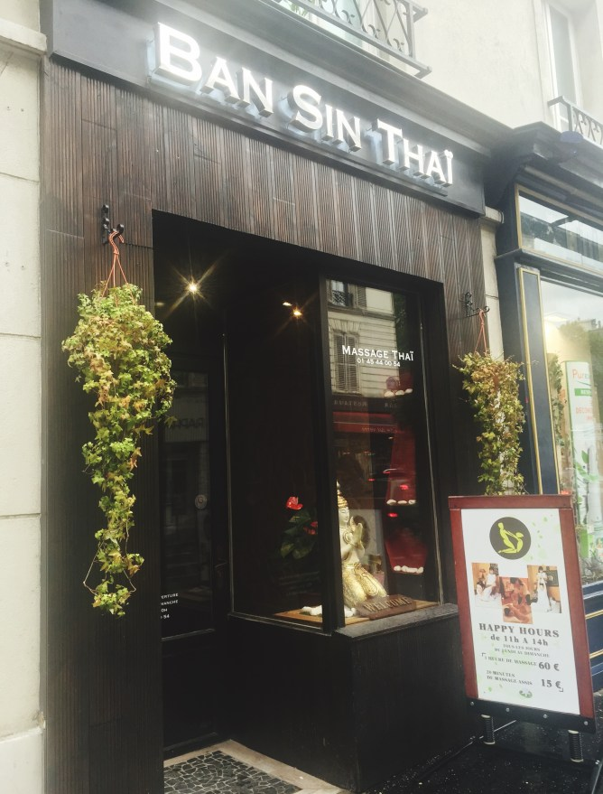 Spa Ban Sin Thai Paris Massages Thaï