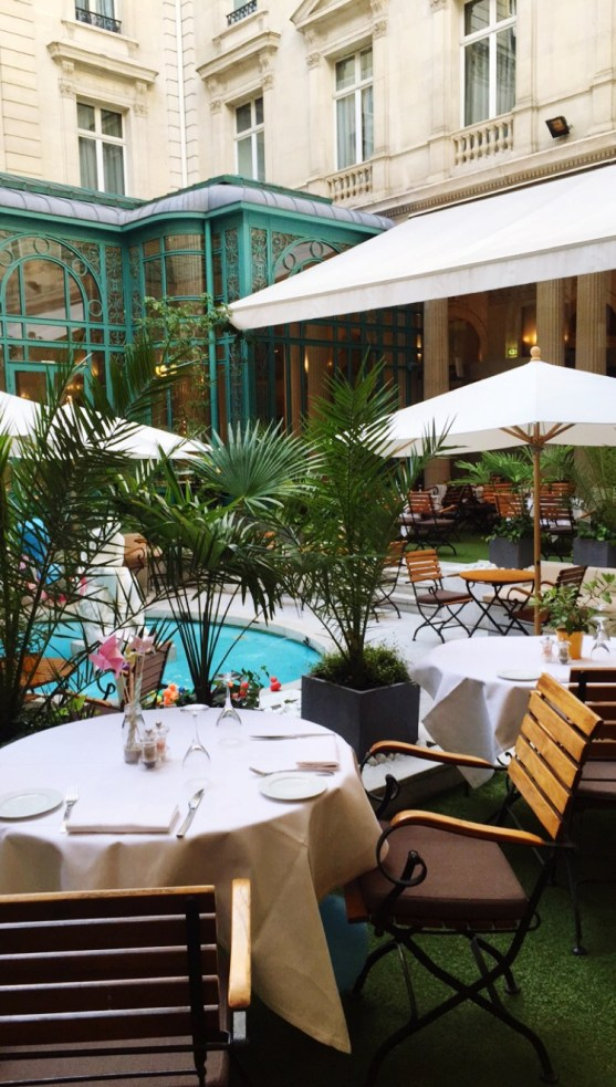 Restaurant Westin Hotel Le First Paris