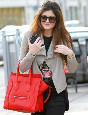 Kylie Jenner sac Phantom Céline
