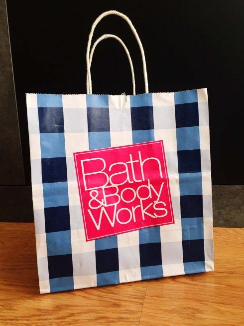 Bath & Body Works shopping bag