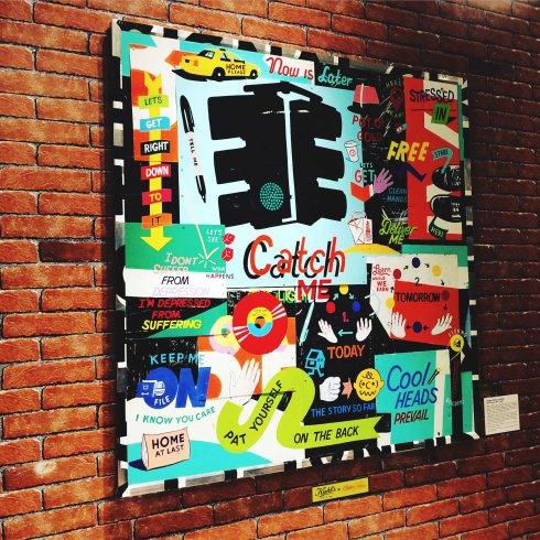 Vente aux enchères Kiehl's Stephen Powers « Catch the Light »