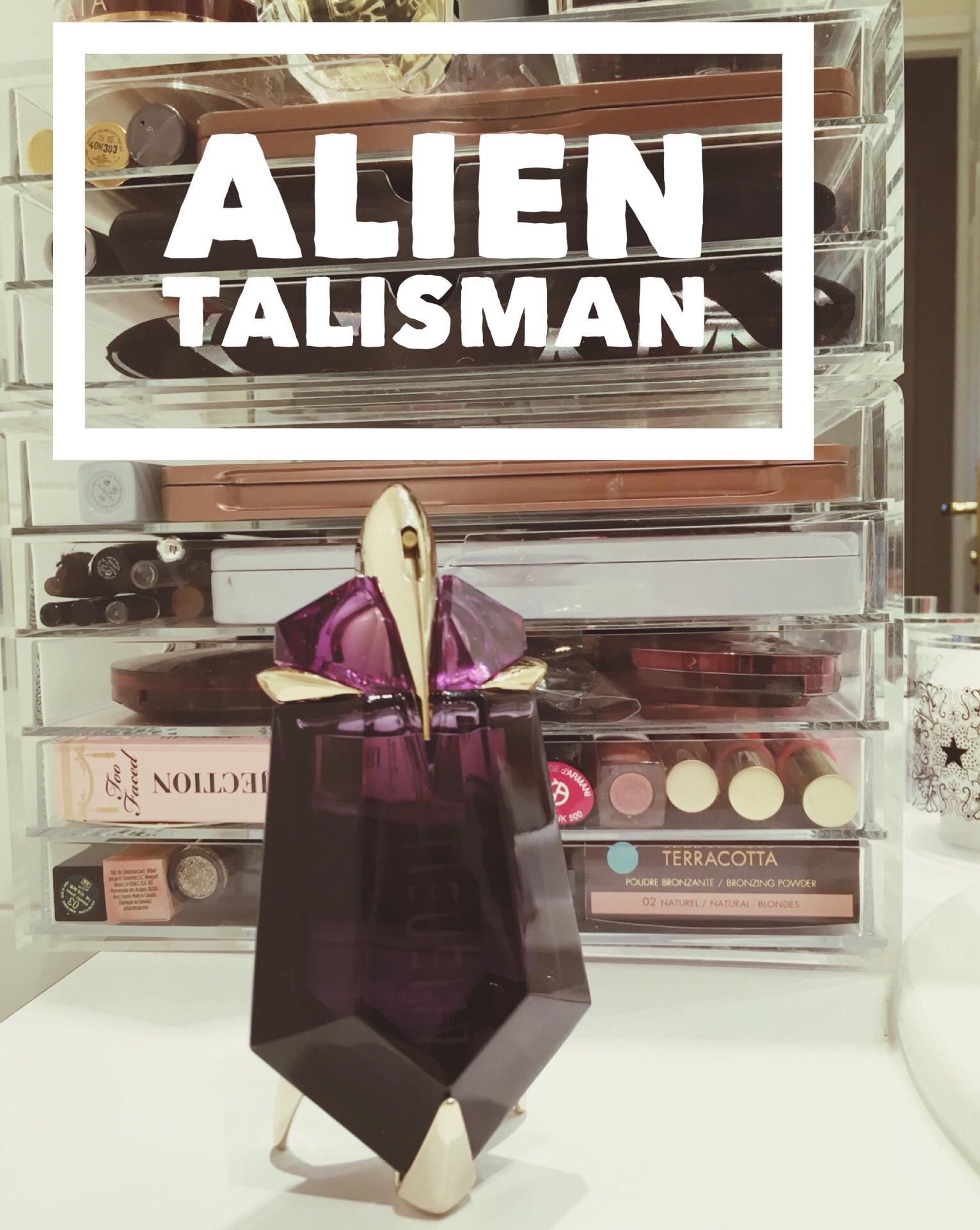Leau De Parfum Alien Talisman De Thierry Mugler Dans Mon Sac De Fille