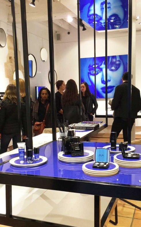 Boutique Chanel Beauté Rue des Francs Bourgeois Paris Marais