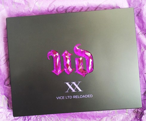 Palette UD XX Vice LTD Reloaded Urban Day 20 ans avis blog