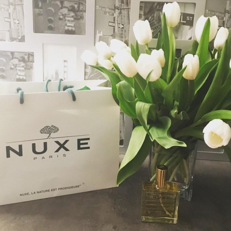 Huile Prodigieuse Nuxe Cheveux Visage Corps nouvelle formule anniversaire 25 ans avis blog